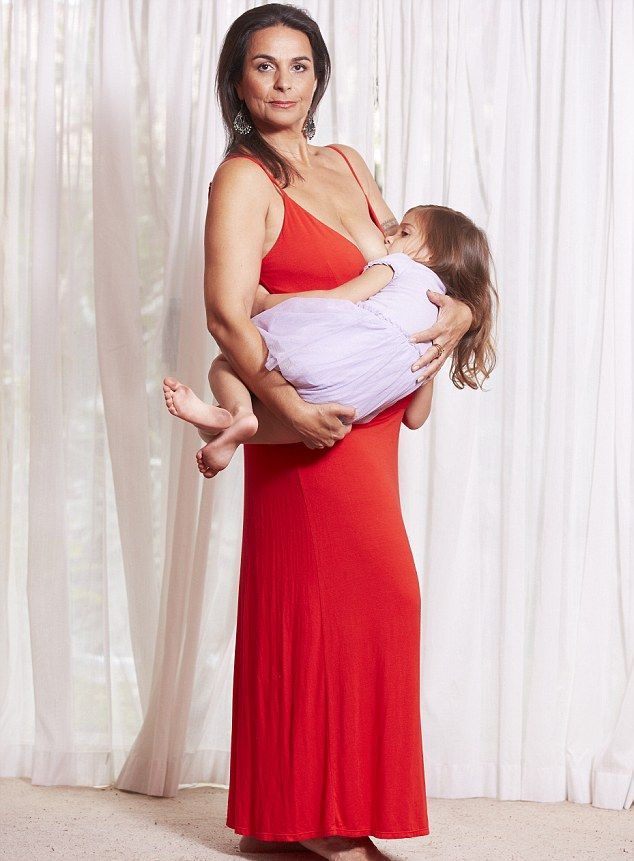 молодые мамы с большой грудью фото
