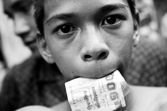 Малолетние мастера муай тай из Таиланда