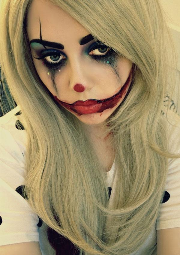 Раскраски на хэллоуин на лице для девочек - 4