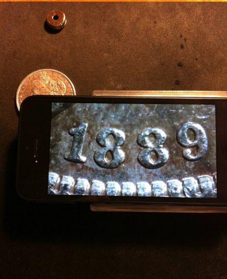Макросъемка с помощью телефона и лазерной указки