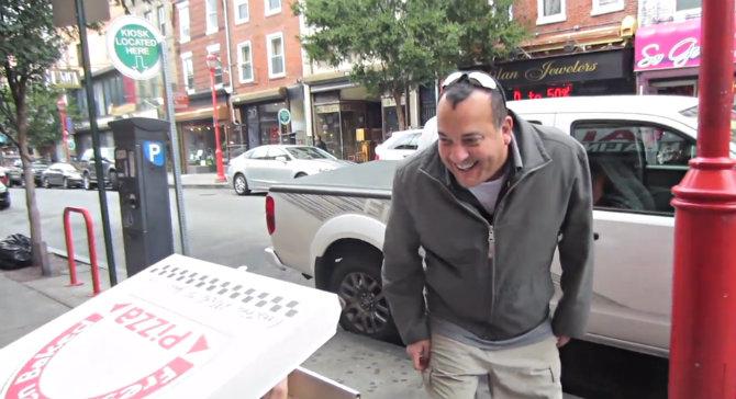 Бесплатной пиццы не желаете?