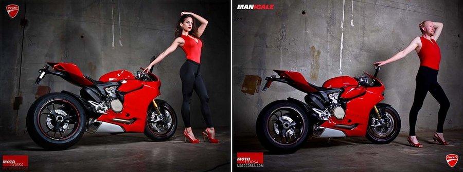 Любви к Ducati все покорны