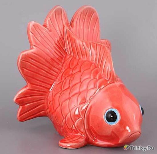 Почему эта рыбка такая печальная?