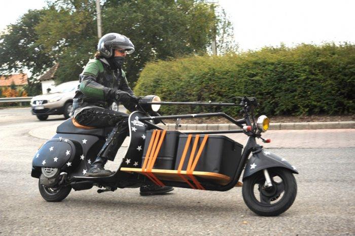 Motofocker – грузовик и скутер