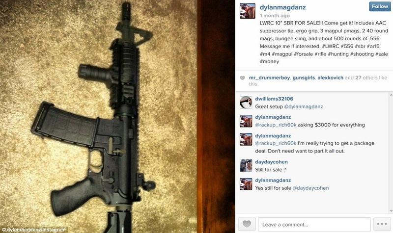 Instagram превратился в рынок для покупки и продажи оружия