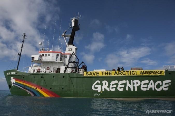 Опубликовано долгожданное видео задержания Arctic Sunrise