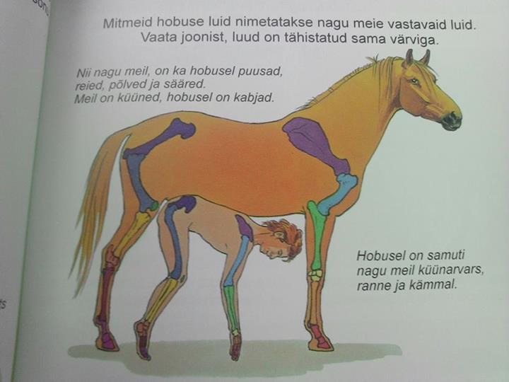 В эстонском учебнике по природоведению...