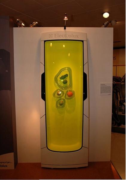 Холодильник из биополимерного геля