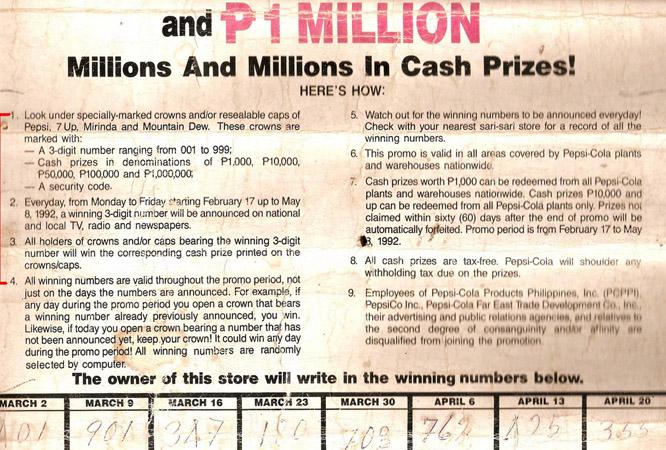 Сегодня вы сможете стать миллионером или Как Pepsi-война объединила коммунистов, повстанцев, армию