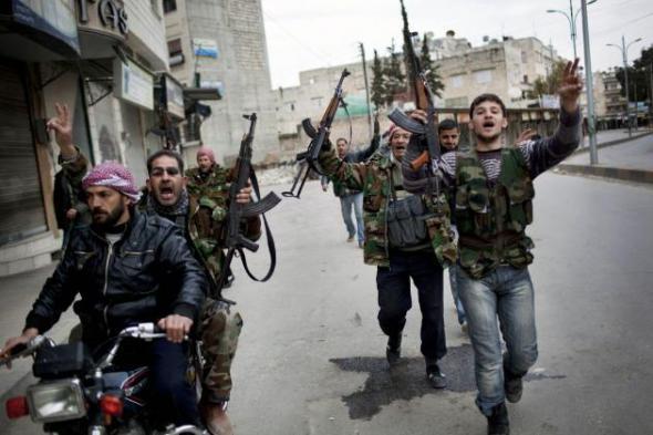 Сирийские ветераны едут в Киев поддержать евромайдан