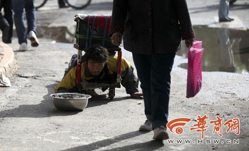 Китайская полиция ставит на ноги калек за считаные секунды