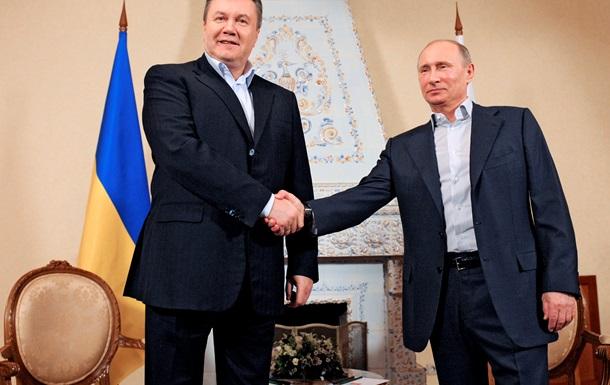 Янукович подписал соглашение с Россией, обязывающее Украину вступить в Таможенный Союз