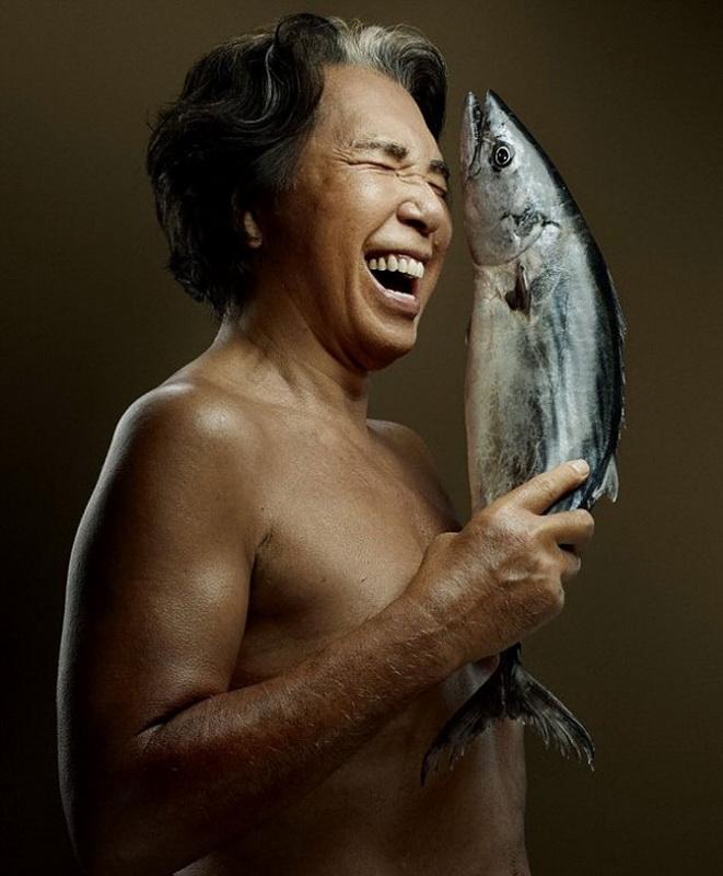 Рекламная кампания Fish Love против незаконных методов ловли рыбы