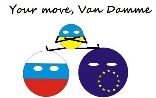 Лучшая пародия года!  Евромайдан, Евроинтеграция, Украина, Ван Дамм