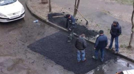Укладка асфальта в Беларусии