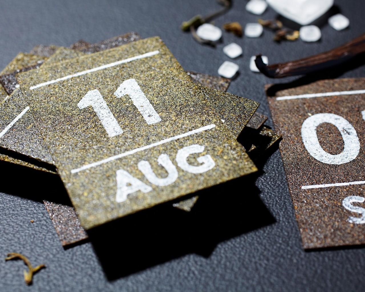 Чайный календарь на весь год. Это офигенно!