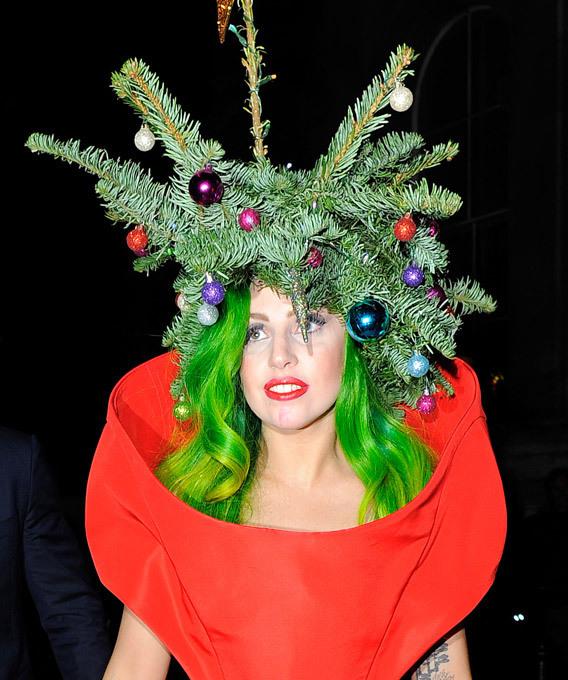 Гага — ёлка
