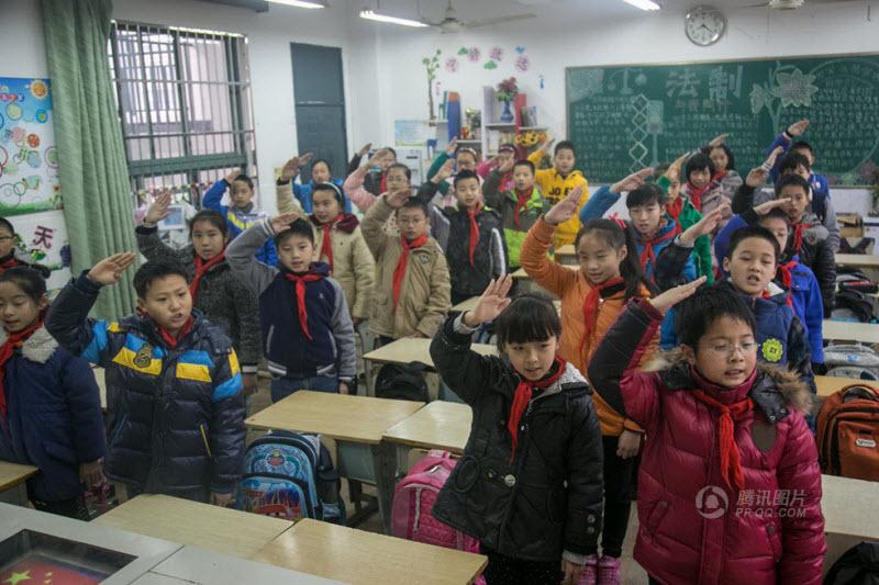 Каждый день в обычной китайской школе