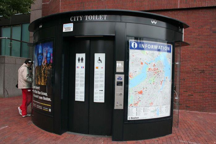 Остерегайтесь туалетов в Европе!