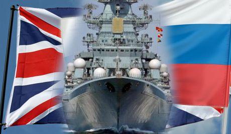 Что делал российский ракетный крейсер у берегов Великобритании?!