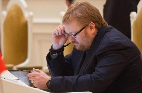 Милонов предлагает штрафовать за фейковые аккаунты