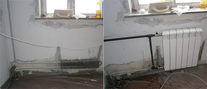 Замена радиаторов отопления в Москве