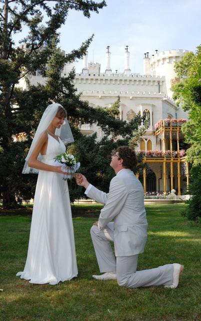 Vedi Tour Group Свадьба в Замке Глубока Над Влтавой