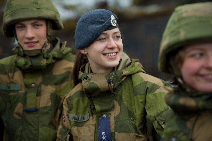 новая спальня в норвежской армии