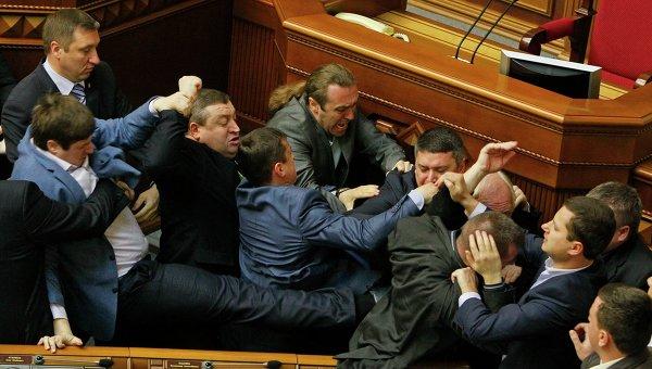 О, украинская Рада, наконец, вошла в штатный режим работы