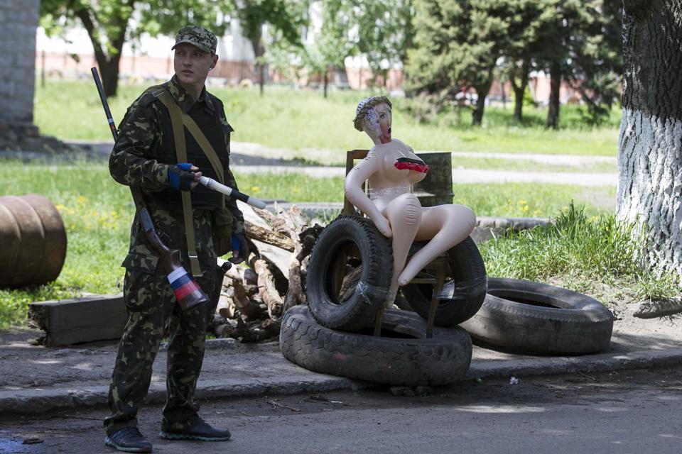 Юленька в Славянске!