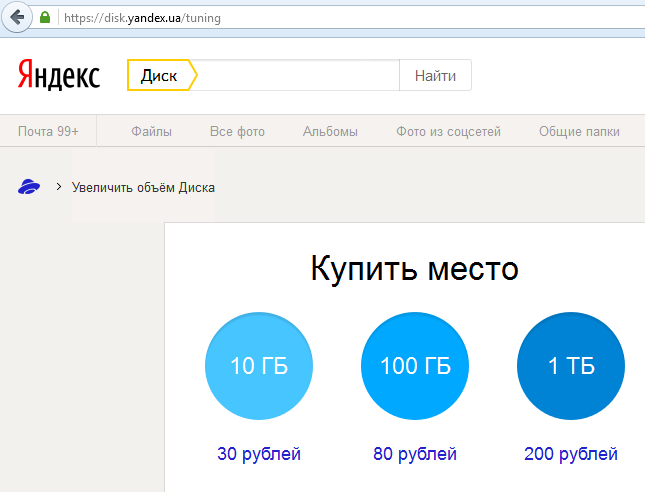 ЯндексДиск