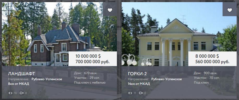 дом на Рублёвке купить