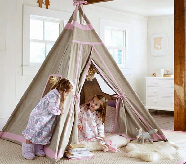 Как своими руками сделать палатку для ребенка