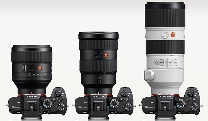FE_GM Sony FE 85mm f/1.4 GMSony FE 24-70mm F2.8 GMSony FE 70-200mm f/2.8 GM OSS