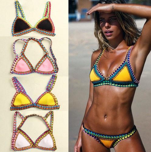 сексуальный купальник бикини комплект 2016 пляж женщина