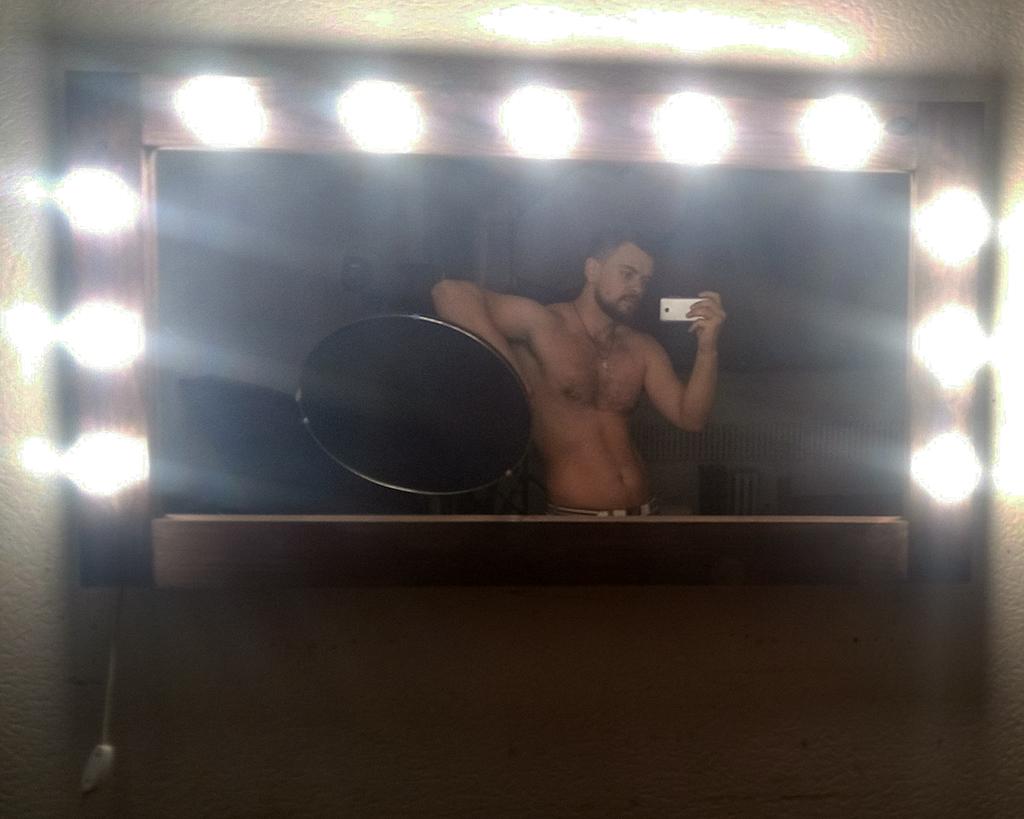 зеркало визажиста с подсветкой
