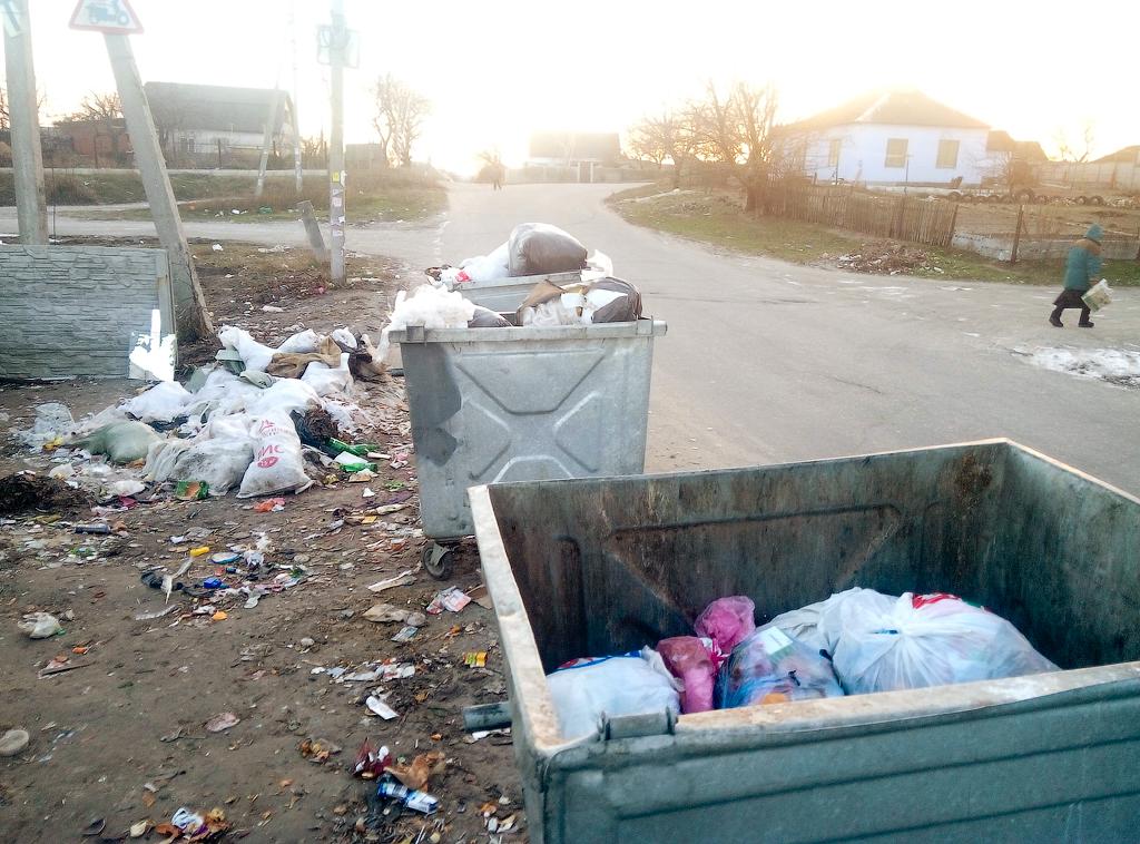 Приколы Днепркоммунтранса или мусор по Днепропетровски