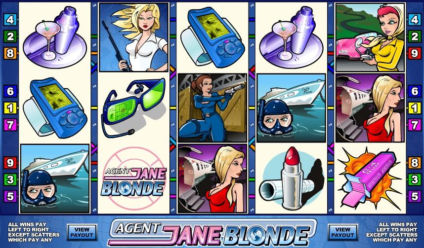 Agent Jane Blonde слот