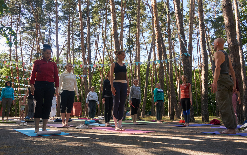 Ретрит с йога Айенгара в Днепре. 2-5 июня. Тренировки