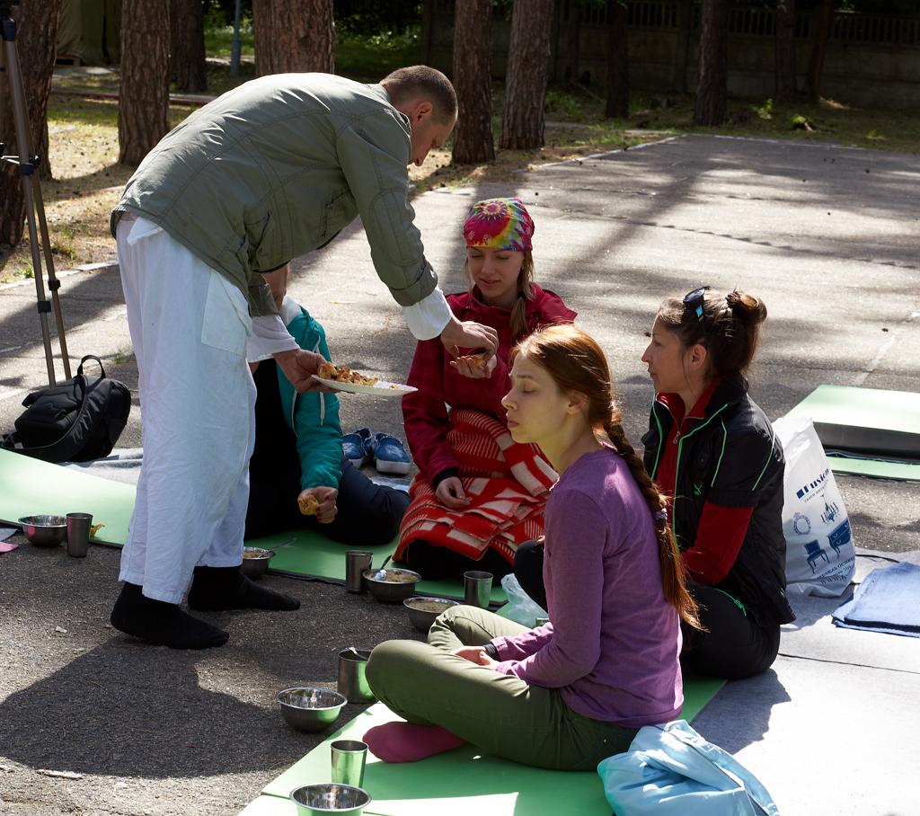 Ретрит с йога Айенгара в Днепре