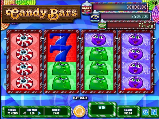 Candy Bars слот
