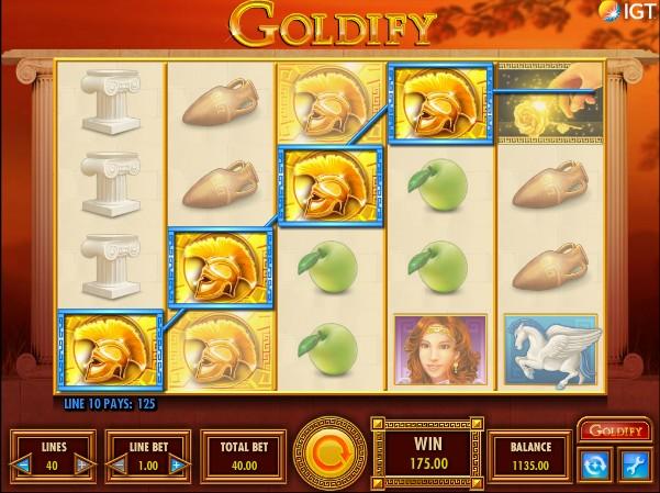Goldify слот