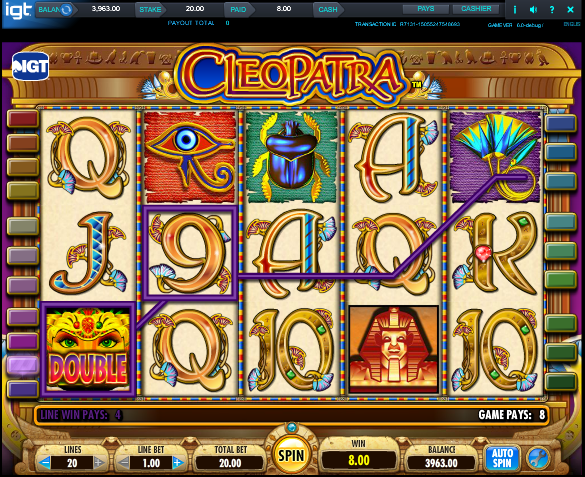 Cleopatra слот