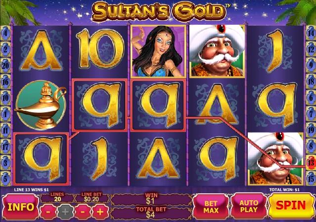 Sultan's Gold слот