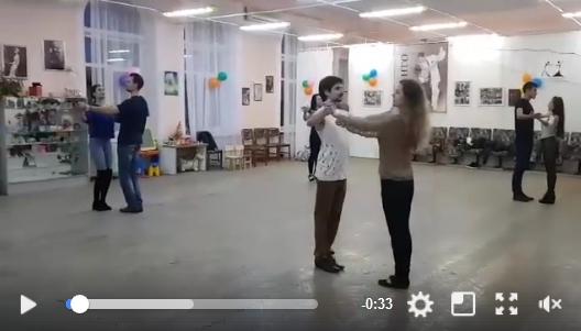 венский вальс и танго тренировка