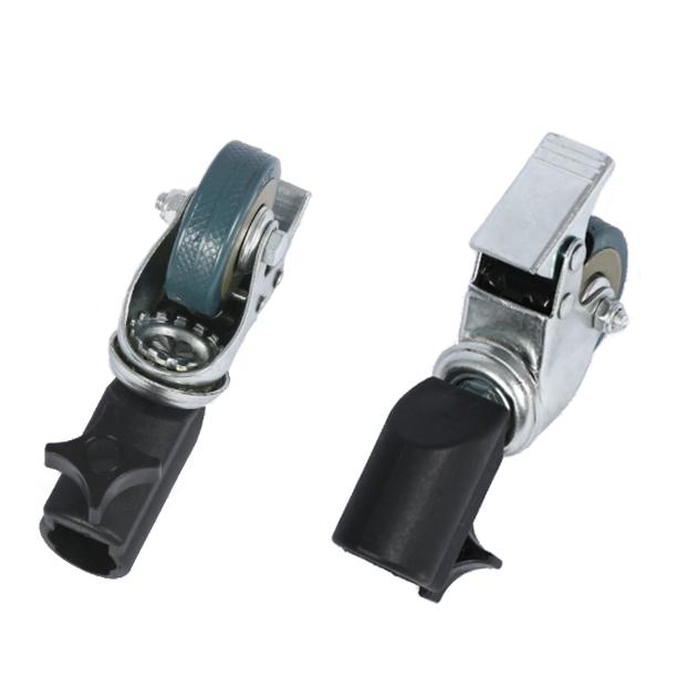 Колёса универсальные поворотные для стоек фотостудия - 3 шт комплект
