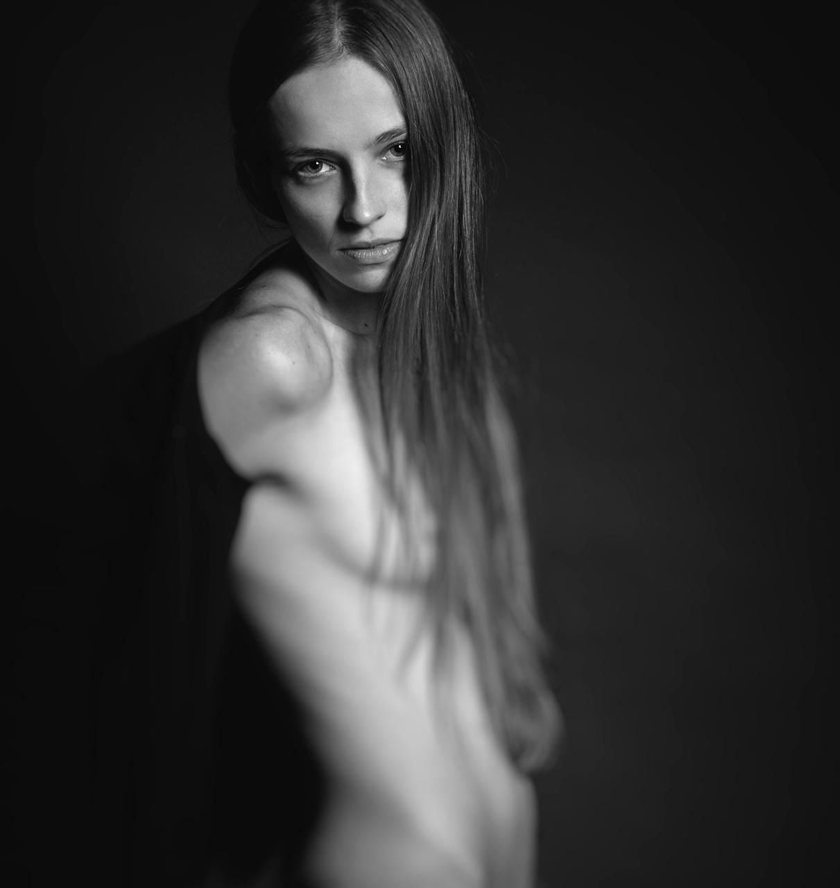 Nude portrait Ню портрет девушка Евгений Яценко Варганчик Varganshik