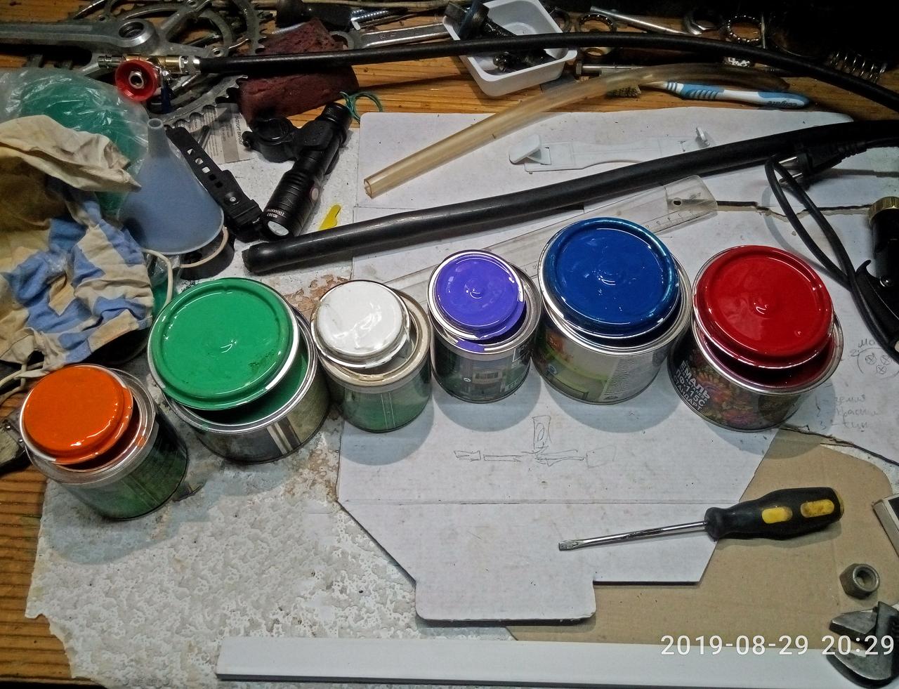колористика смешать краски цвет