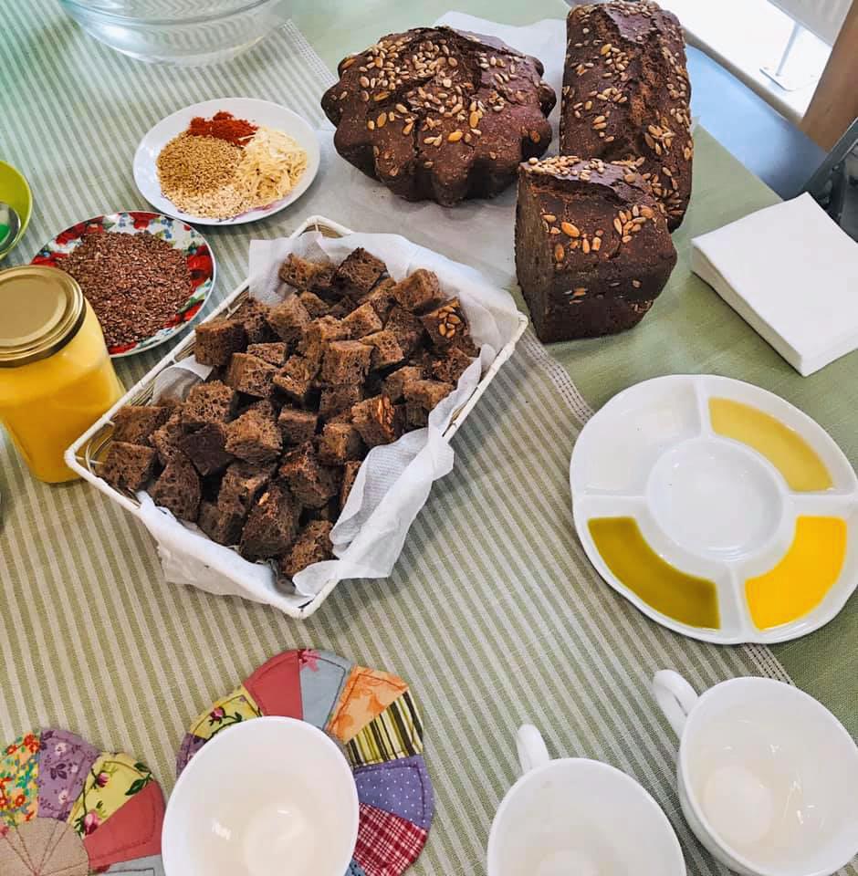 Я сходил на мастер-класс Оксаны (LANOK) по выпечке хлеба на закваске