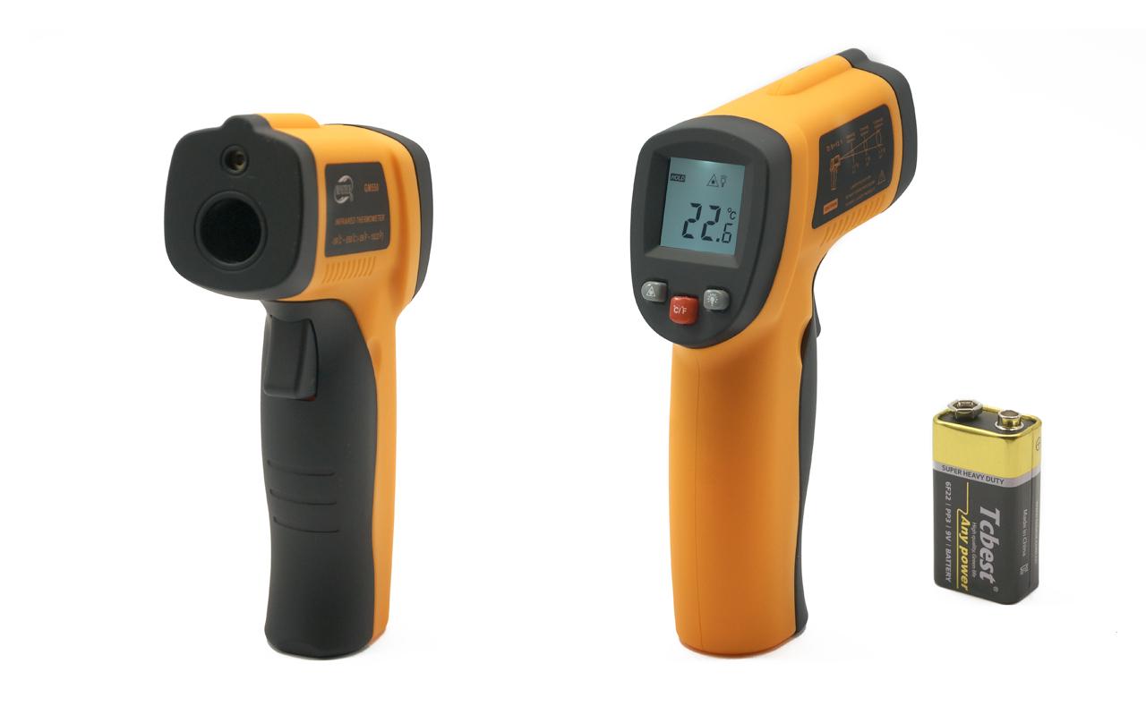 Пирометр GM550 Бесконтактный инфракрасный измерять температуру тела